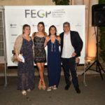 De izquierda a derecha, Núria Carbó (La Fonda Neus, Maria Nadal, Eva Santos, Joan Nadal)