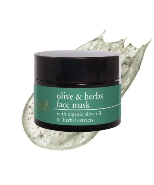 Olive & Herbs Face Mask